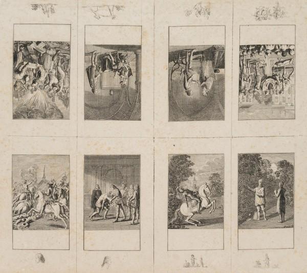1-8. Blatt zur Geschichte der Bartholomäusnacht, Bogen