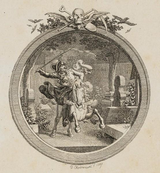 Wilhelm sprengt auf den Kirchhof
