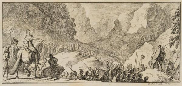 Cäsars Zug über die Pyrenäen